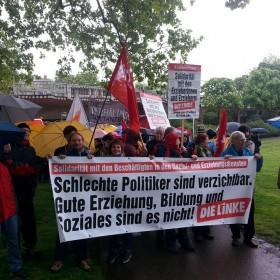 Solidarität mit den streikenden ErzieherInnen – Für uns selbstverständlich!