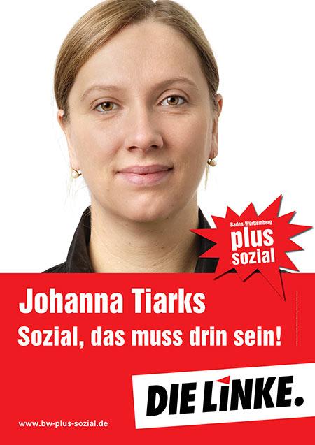 Johanna Tiarks, Plakat