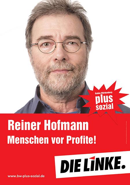 Reiner Hofmann, Plakat