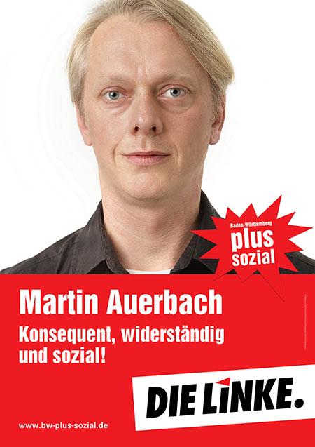 Martin Auerbach, Plakat