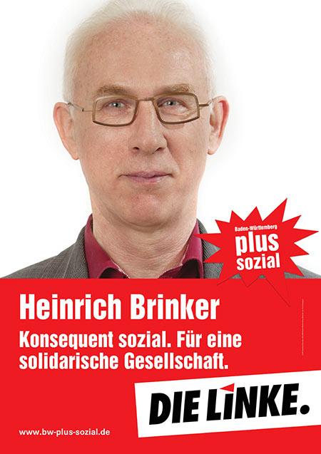 Heinrich Brinker, Plakat