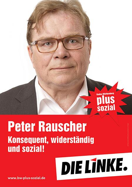 Peter Rauscher, Plakat