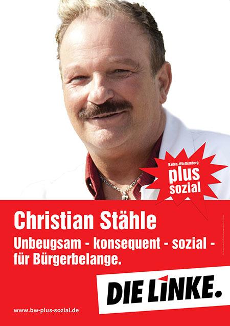 Christian Stähle, Plakat
