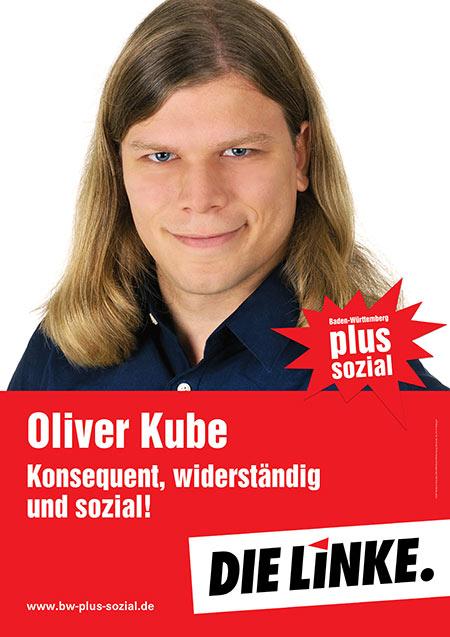 Oliver Kube, Plakat