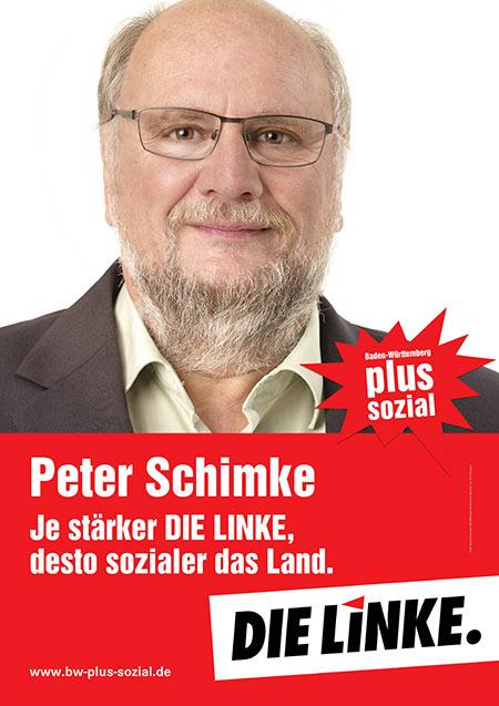 Peter Schimke, Plakat