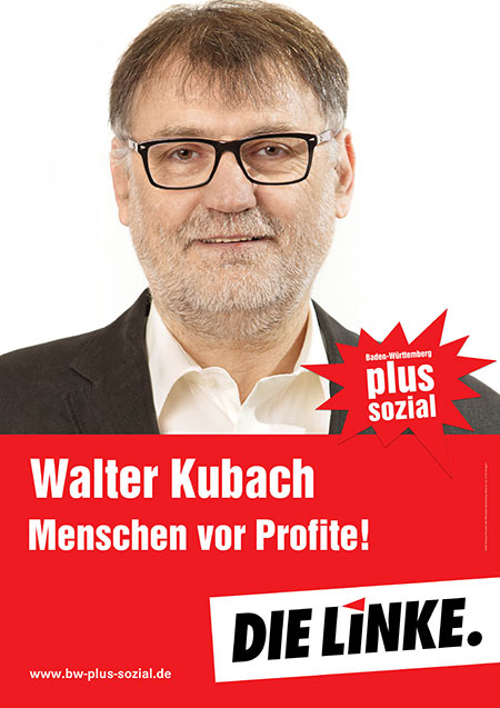 Walter Kubach, Plakat