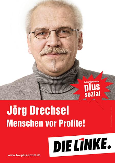 Jörg Drechsel, Plakat