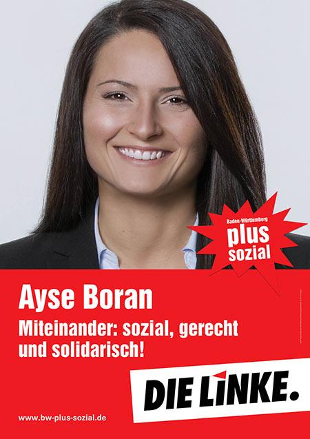 Ayse Boran, Plakat