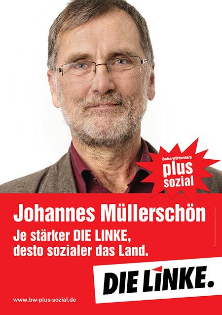 Johannes Müllerschön, Plakat