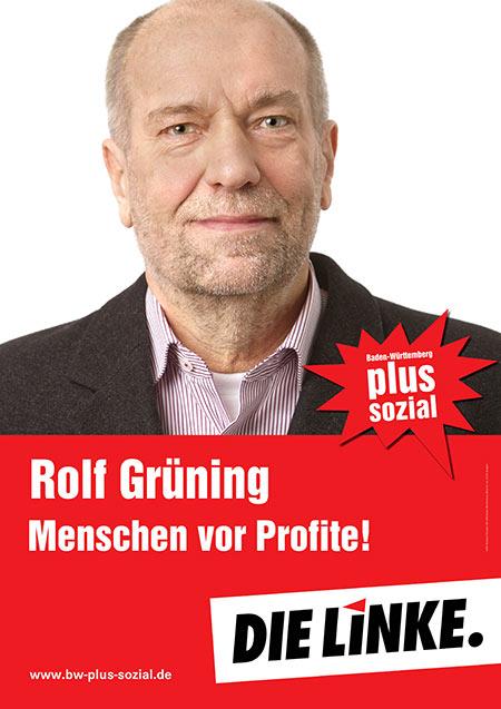 Rolf Grüning, Plakat
