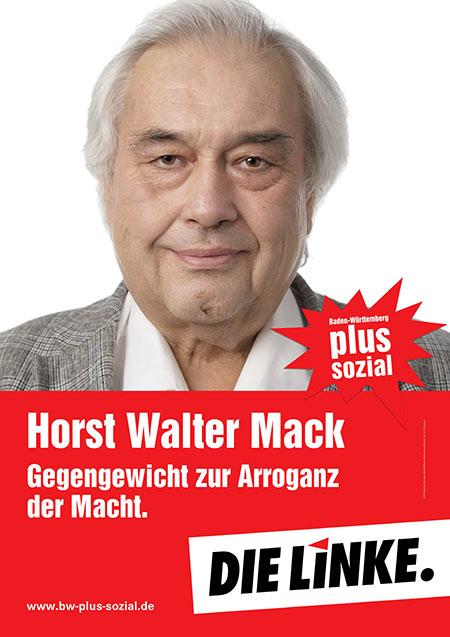 Horst Mack, Plakat