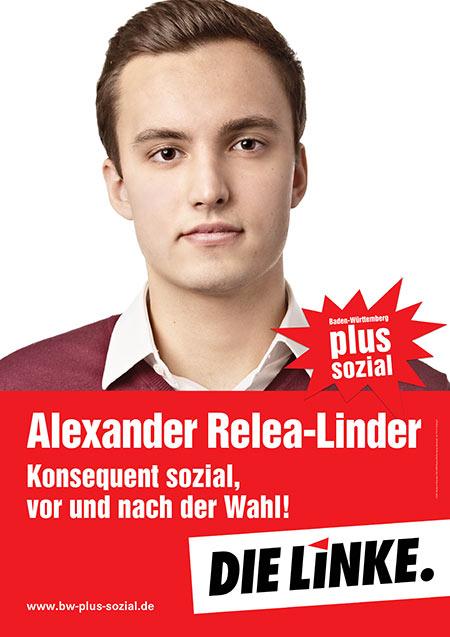 Alexander Relea-Linder, Plakat