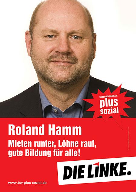 Roland Hamm, Plakat