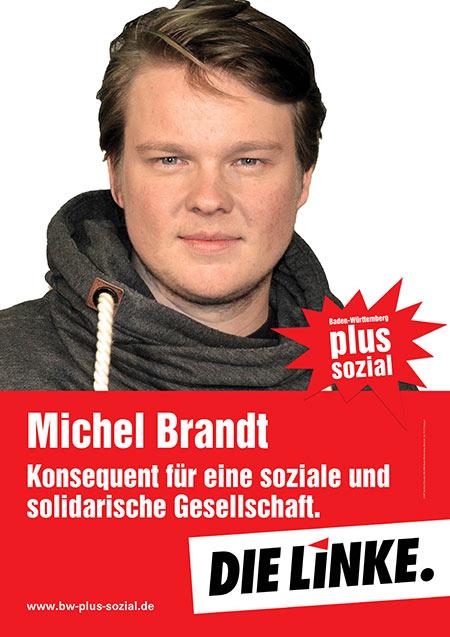 Michel Brandt, Plakat