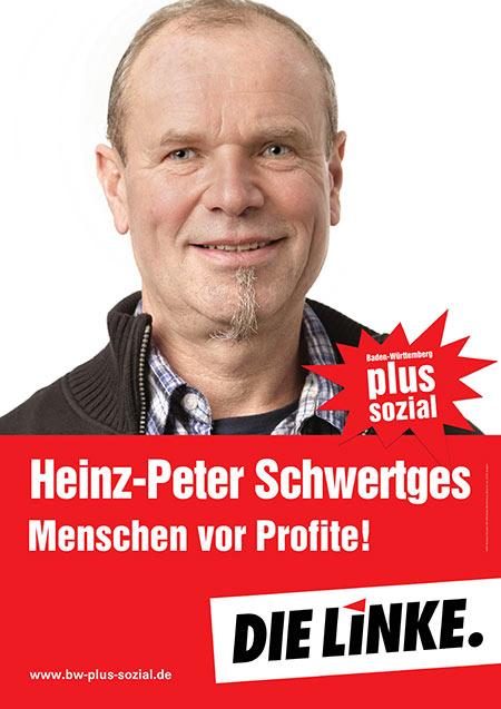 Heinz-Peter Schwertges, Plakat