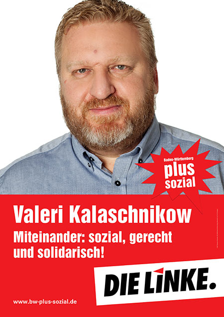 Valeri Kalaschnikow, Plakat