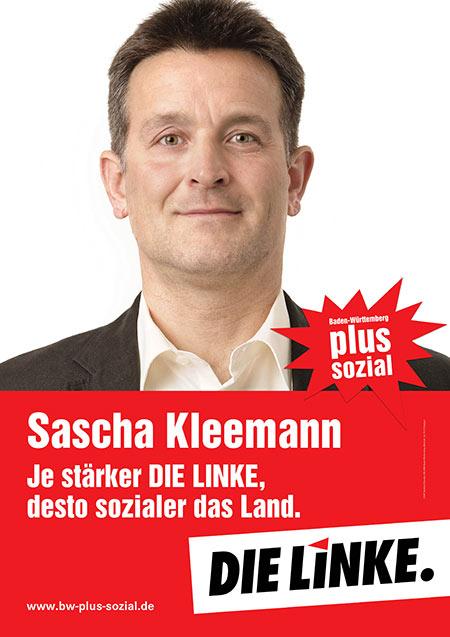 Sascha Kleemann, Plakat