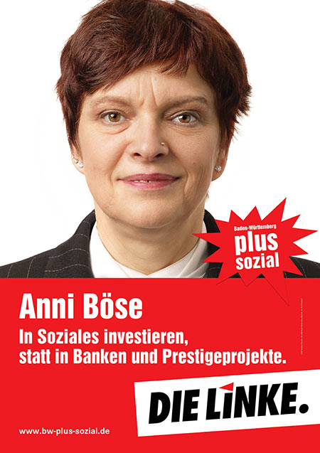 Anni Böse, Plakat