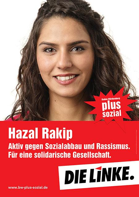 Hazal Rakip, Plakat