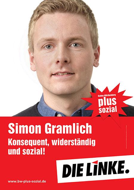 Simon Gramlich, Plakat