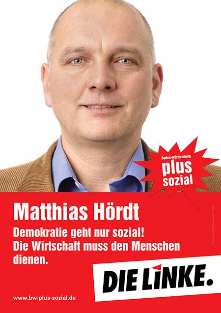 Matthias Hördt, Plakat