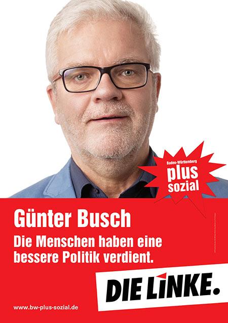 Günter Busch, Plakat