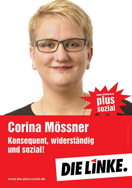 Corina Mössner, Plakat