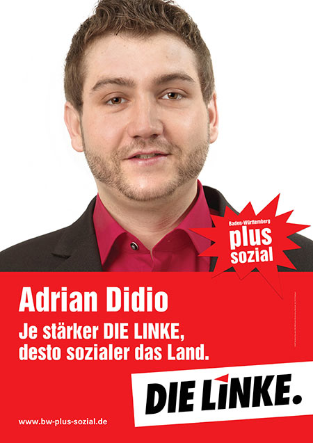 Adrian Didio, Plakat