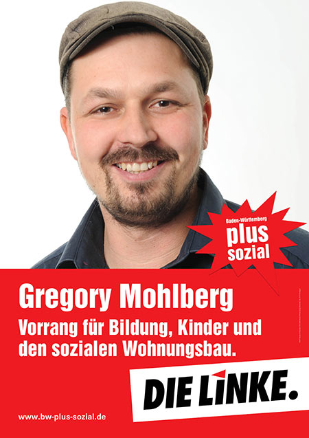Gregory Mohlberg, Plakat