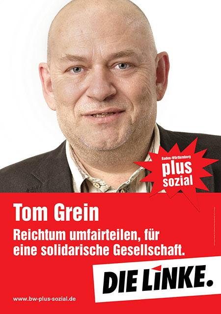 Tom Grein, Plakat