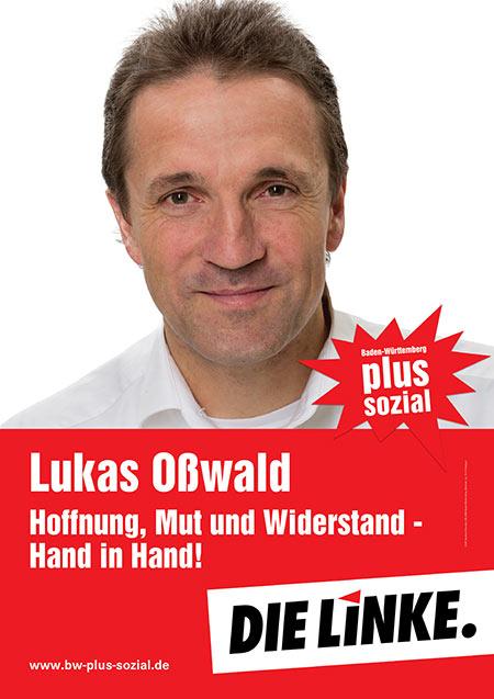 Lukas Oßwald, Plakat