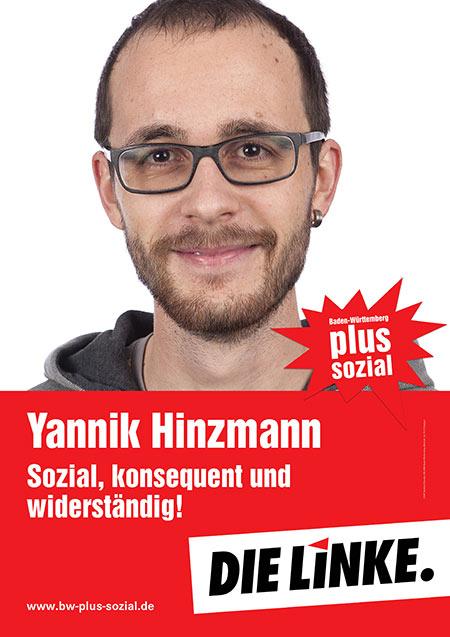 Yannik Hinzmann, Plakat