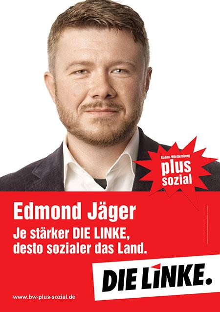 Edmond Jäger, Plakat
