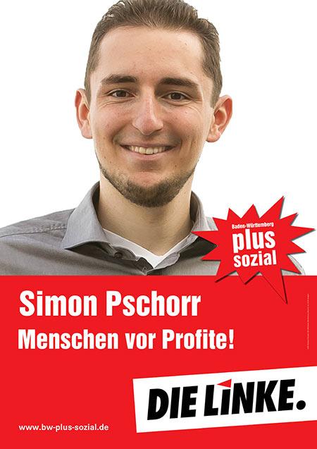 Simon Pschorr, Plakat