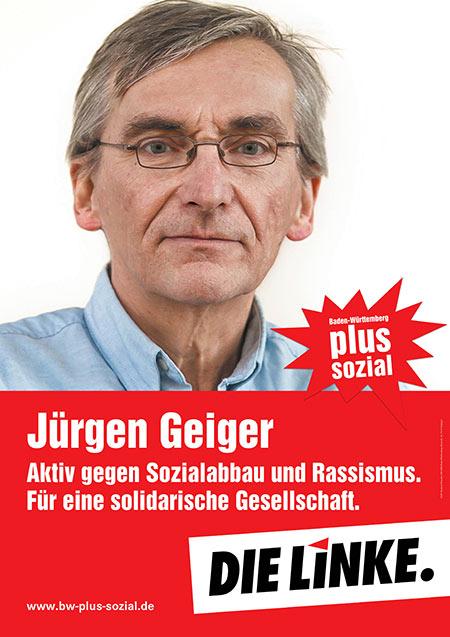 Jürgen Geiger, Plakat
