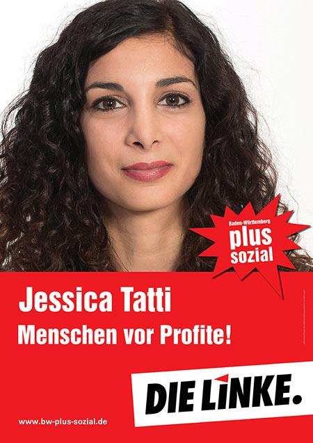 Jessica Tatti, Plakat