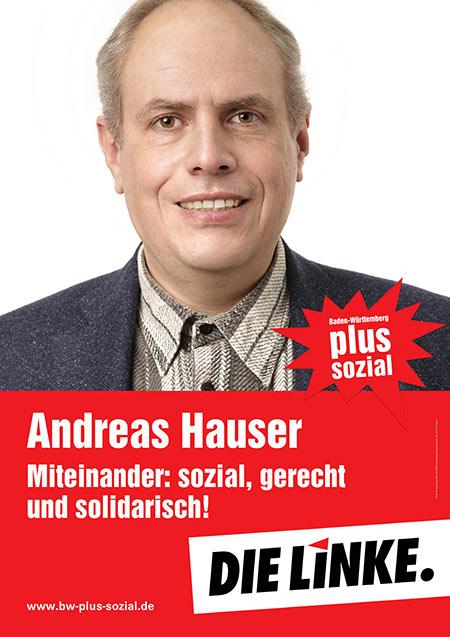 Andreas Hauser, Plakat