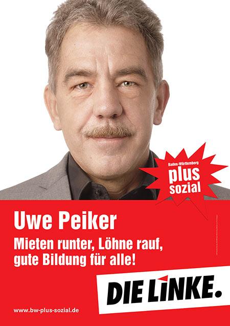 Uwe Peiker, Plakat
