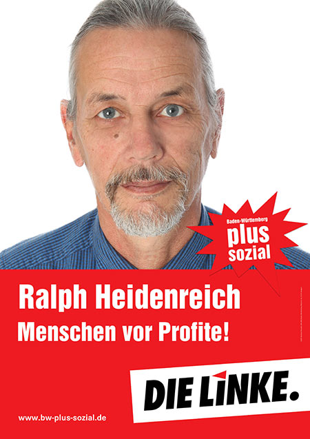 Ralph Heidenreich, Plakat