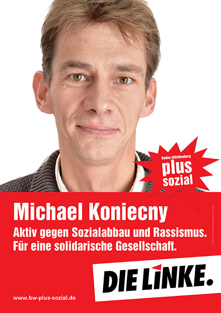 Michael Konieczny, Plakat