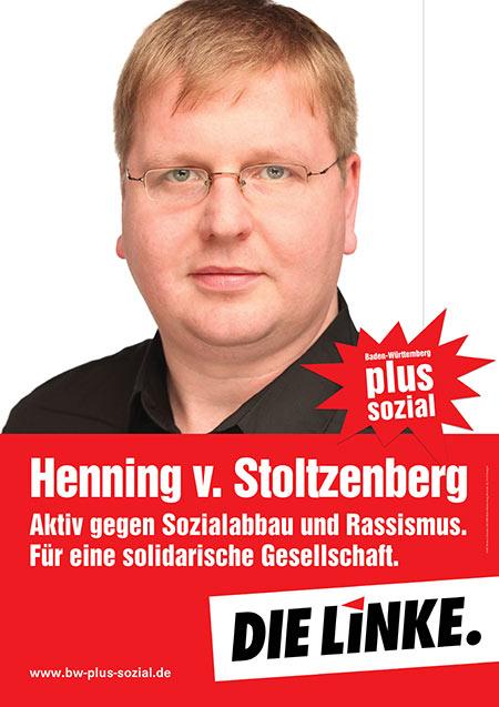 Henning von Stoltzenberg, Plakat