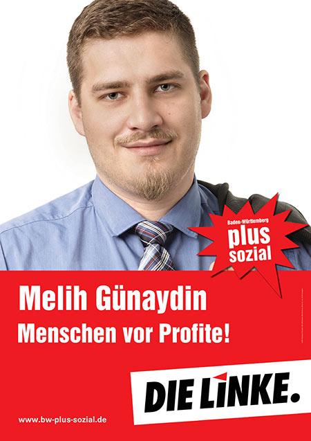 Melih Günaydin, Plakat